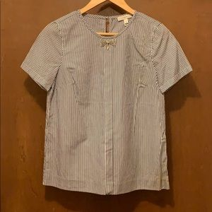 J. Crewe Bow Tie Blouse - Size 0